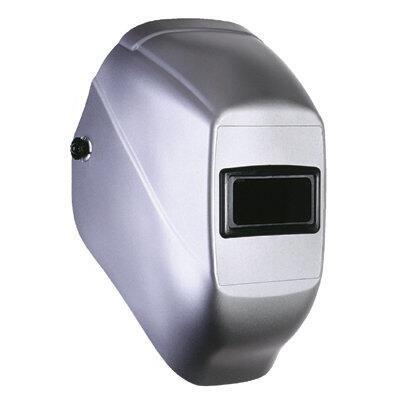 Fibre-Metal Tigerhood Futura Silver Thermoplastic Helmet Assembly - 2001SR PRICE is per EACH