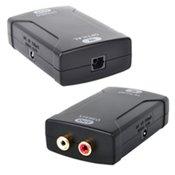 HDTVhookup™ Digital Optical Toslink to Analog Audio Converter