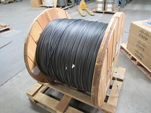 Roll of Fiber Optic Cable 12 Fiber Single Mode Fiber OFNP FT6 11756 ft T91054