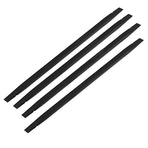 SODIAL R Mobile Phone Black Plastic Flat Tip Stick Soldering Repair Tool 4 Pcs