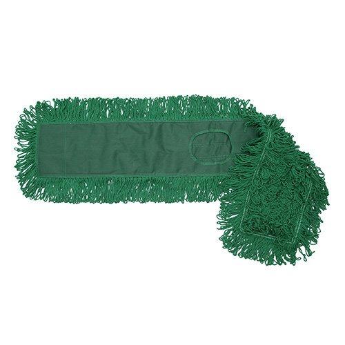 O-Cedar Commercial 96918 Dust Mop Head - Green Cotton 18L