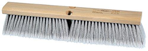 PFERD 89240 Medium Sweeping Broom with Lacquered Hardwood Block 18 Block Length 3 Trim Length