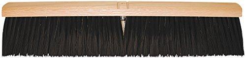 PFERD 89278 Medium Sweeping Broom with Foam Plastic Block 24 Block Length 3 Trim Length