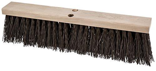 PFERD 89350 Heavy-Duty Street Sweeping Broom with Sanded Hardwood Block 24 Block Length 5-14 Trim Length