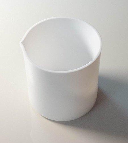 400 Ml Ptfe Teflon Beaker Crucible Cup  for Chemistry Biology Lab