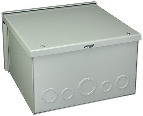Hoffman A10R106 NEMA 3R Enclosure Screw Cover Galvanized Paint Finish 10 x 10 x 6