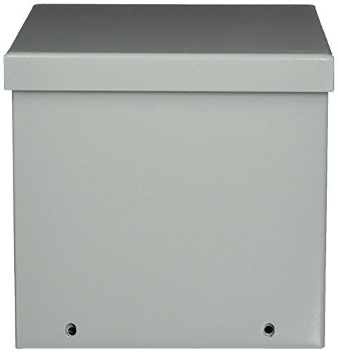 Hoffman A6R66 NEMA 3R Enclosure Screw Cover Galvanized Paint Finish 6 x 6 x 6