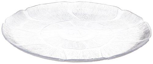 Carlisle 694207 Petal Mist Polycarbonate Plate 1281 Diameter Clear Case of 6