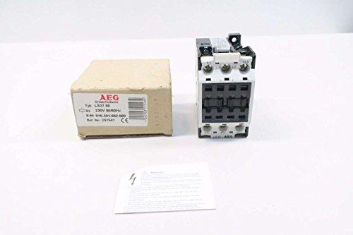 AEG LS3700 910-301-652-500 230V-AC 25HP 55A AMP AC CONTACTOR D538933