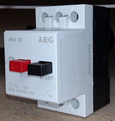 AEG MBS25-M MANUAL STARTER 10-16A