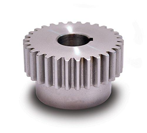 Boston Gear YA15 Spur Gear Steel Inch 20 Pitch 0375 Bore 0850 OD 0500 Face Width 15 Teeth