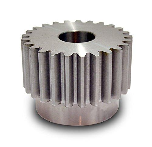 Boston Gear YJ21 Spur Gear Steel Inch 6 Pitch 1000 Bore 3833 OD 2000 Face Width 21 Teeth