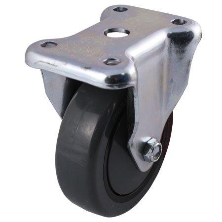Faultless Series 400-7700 Caster - 4 x 1-14 Polyurethane on Polypropylene Wheel Rigid 7799-4TG