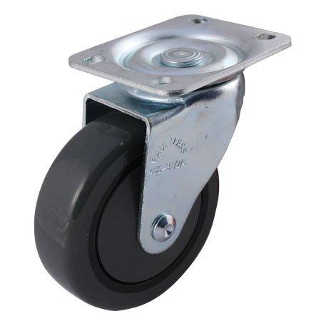 Faultless Series 400-7700 Caster - 5 x 1-14 Polyurethane on Polypropylene Wheel Swivel 499-5TG