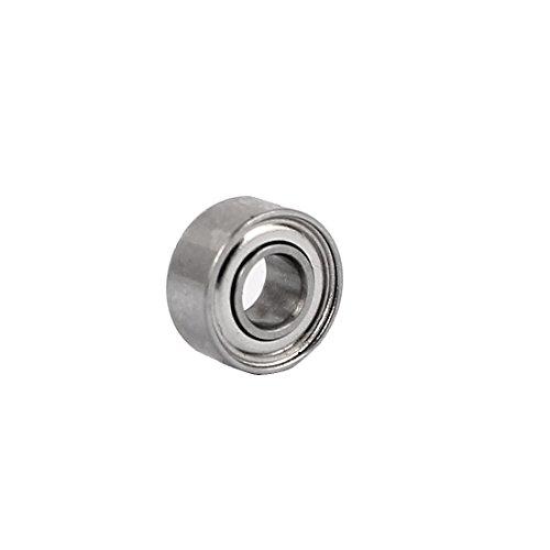 uxcell ZZ683 7mmx3mmx3mm Dual Steel Shields Deep Groove Ball Bearing