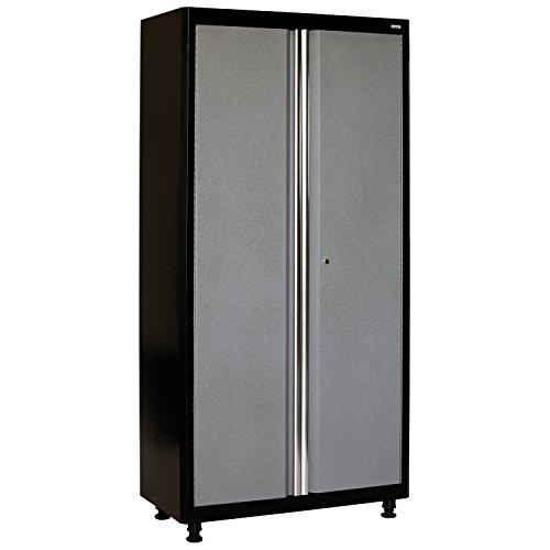 American Heritage AA3F361872-MG09 Welded Steel Floor Cabinet in BlackMulti-Granite 72 Height x 36 Width x 18 Depth