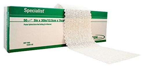 BSN 7392 Specialist Plaster Splints Extra Fast 5 x 30 - Box of 50