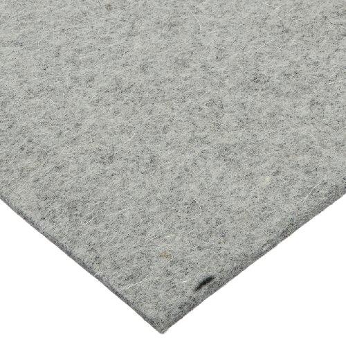 Grade F3 Pressed Wool Felt Sheet Gray Meets SAE J314 316 Thickness 36 Width 60 Length