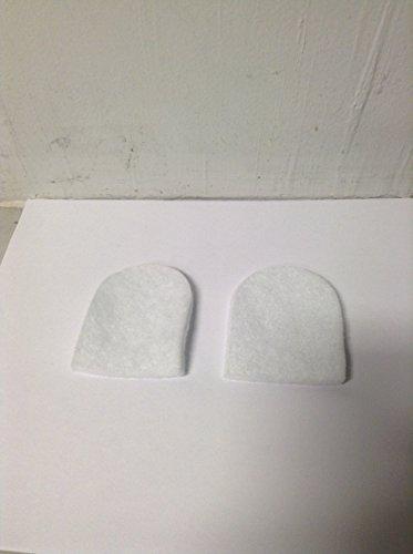 LW3 Pad Heel MedialLateral Wool Felt Med 3 Pr Part LW3 by Hapad Inc Qty of 1 Pair
