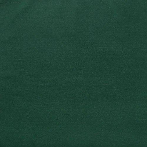 Visual Textile Square Hunter Green Spun Polyester Napkin - 20 x 20