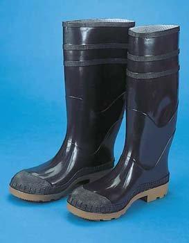 Mutual Industries 14502-2-8 PVC Black Sock Boot16 Size  8