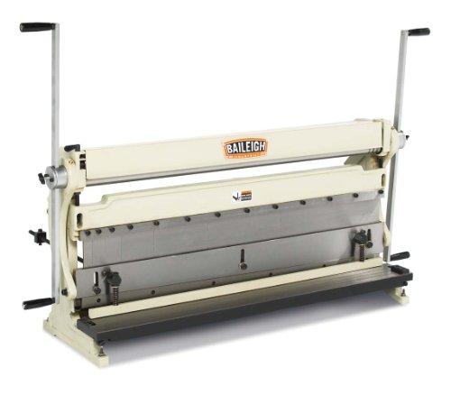 Baileigh SBR-4020 3-in-1 Combination Shear Brake Roll Machine 40 Bed Width 20-Gauge Mild Steal Capacity