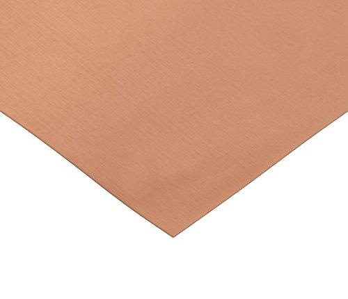 RMP 110 Copper Sheet 5 Inch x 7 Inch x 0021 Inch Thick