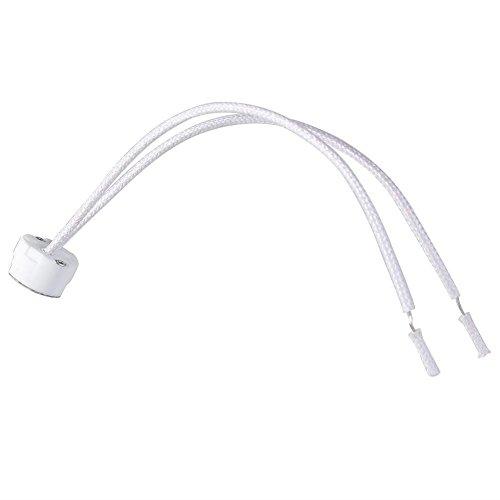Aquiver Newest MR16 Socket LED Lamp halogen Light Holder Base Ceramic Wire Connector 1pcs