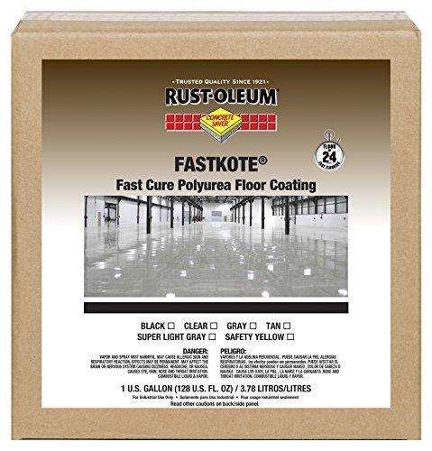 Rust-Oleum 280972 Clear FastKote Polyurea Floor Coating 1 gal Can