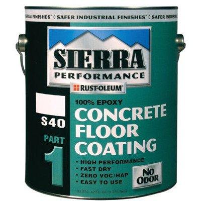 Sierra PerformanceTM S40 Concrete Epoxy Floor Coatings - voc satin clear s40 concrete epoxy floor coat Set of 2