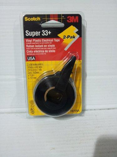 Scotch 3m Super 33 Vinyl Plastic Electrical Tape 3425na 2-pak