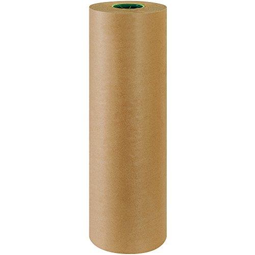 BOX USA BKPPC2450 Poly Coated Kraft Paper Roll 50 24 x 600 Kraft