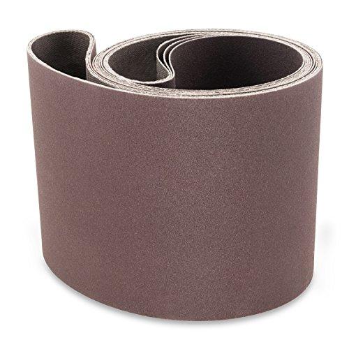 4 X 48 Inch 150 Grit Aluminum Oxide Premium Quality Metal Sanding Belts 3 Pack