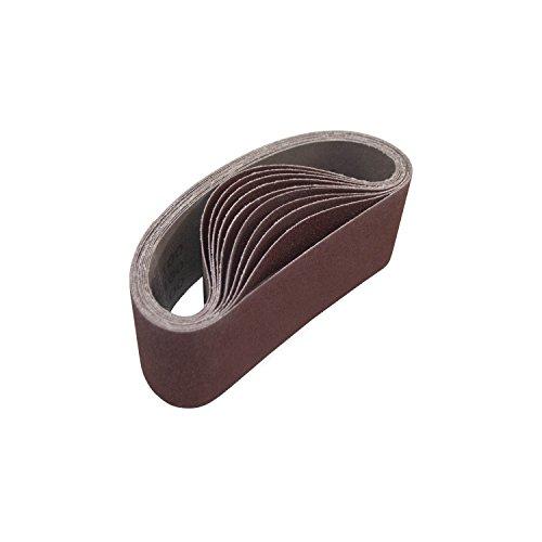 ALEKO 3-Inch x 18-Inch 150 Grit Aluminum Oxide Sanding Belt 10-Pack