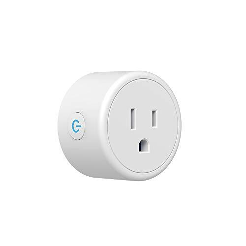 FEDBNET Smart plug Smart plug Mini Wifi Outlet Compatible with Alexa Google Home WiFi Smart Timer Plug US Plug