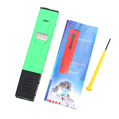 Topker ORP Meter Drinking Water Quality Analyzer Portable Backlit Oxidation Reduction Potential Analyzer Redox Meter