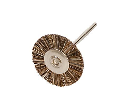 Miniature Brushes on Mandrels Medium Bristles 34 Inch 12 Pack  BRS-40200