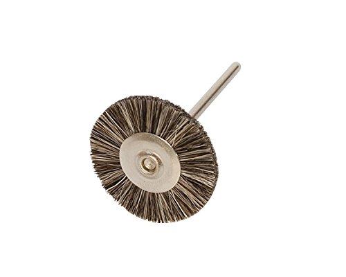 Miniature Brushes on Mandrels Soft Bristles 1 Inch 12 Pack  BRS-41500