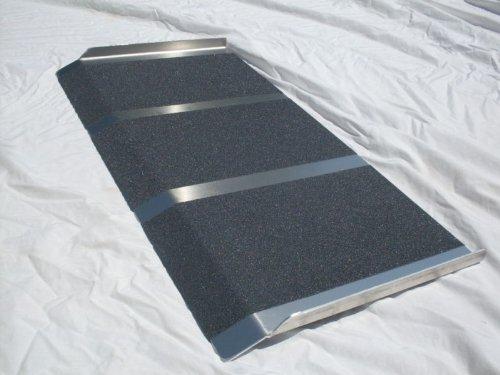 NEW Aluminum Solid Wheelchair Ramp 2ft X 36 Light Weight