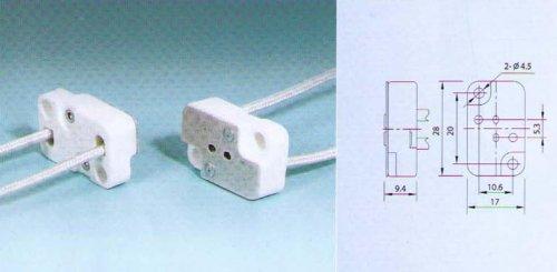 Divine Lighting Square Multi-base Socket Lamp Holder G53 GX53 G635 GX635 Works With  ELC BRL 64514 EHJ etc