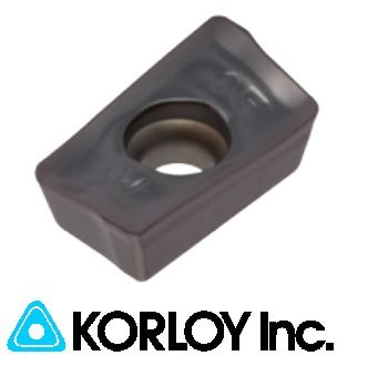 10pc Korloy APMT 1604PDSR-MF PC9530 Indexable Carbide Inserts