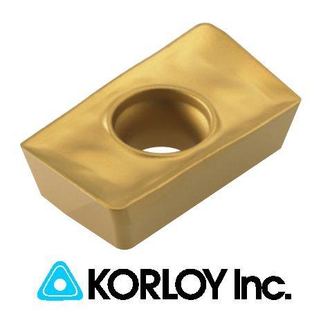 10pc Korloy APMT 1604PDSR-MM PC6510 Indexable Carbide Inserts