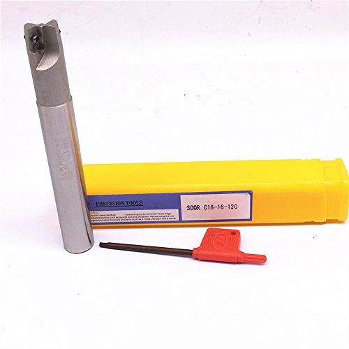 GBJ-1 BAP 300R C16-16-120 Face Milling Arbor For APMTAPKT1135PDER M25 T8