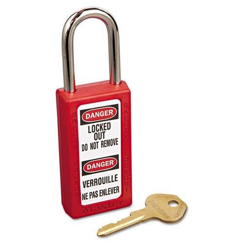 MLK411RED - Lightweight Zenex Safety Lockout Padlock