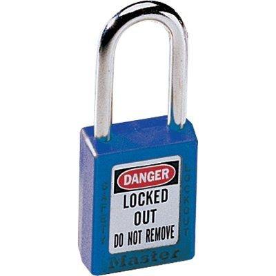 SEPTLS470410BLU - Master Lock No 410 411 Lightweight Xenoy Safety Lockout Padlocks - 410BLU