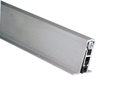 "Pemko Aluminum Automatic Door Bottom Mill Finish Sponge EPDM 916""W x 36L x 1-38""H"