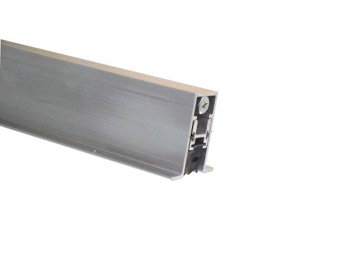 "Pemko Aluminum Automatic Door Bottom Mill Finish Sponge Neoprene 2732""W x 36L x 1-516""H"