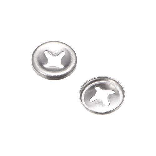 M25 Internal Tooth starlock Washer Stainless Steel Lock Washer Lock washers Clip Holder 25 mm Internal Diameter 10 mm External Diameter 100 Pieces
