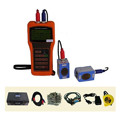 TR-DTI-100H-L1 DTI Digital Meter Ultrasonic Flow Meter for Diesel Fuel DN300 ~ DN6000mm with L1 Transducer -30 ~ 90 C temp Sensor Drinking Water Transit-Time Flowmeter