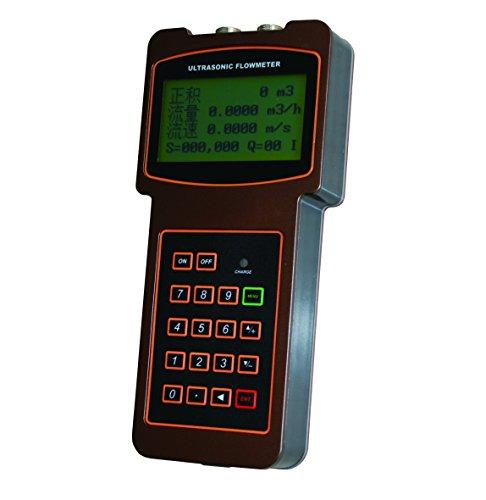 TUF-2000H-TL-1 Handheld Digital Ultrasonic Flow Meter Flowmeter for DN300 to 6000mm Pipe Size Working Temperature Range is -40℃ to 90℃ Degree